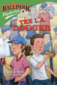 Book cover for Ballpark Mysteries #3: The L.A. Dodger