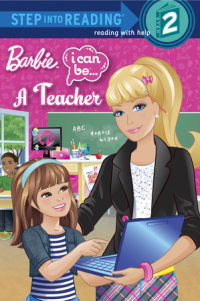 Book cover for I Can Be a Teacher (Barbie)