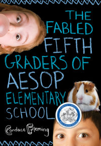 Cover of The Fabled Fifth Graders of Aesop Elementary School