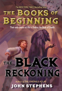 Book cover for The Black Reckoning