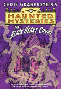 Book cover for The Black Heart Crypt