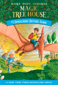 Cover of Dinosaurs Before Dark cover