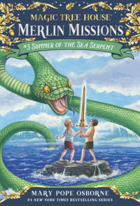 Cover of Summer of the Sea Serpent cover