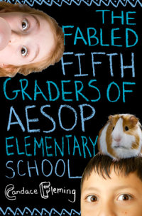 Cover of The Fabled Fifth Graders of Aesop Elementary School cover
