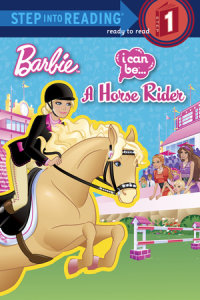 Book cover for I Can Be a Horse Rider (Barbie)