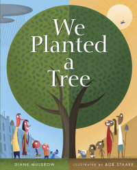 Cover of We Planted a Tree cover