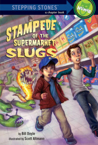 Book cover for Stampede of the Supermarket Slugs