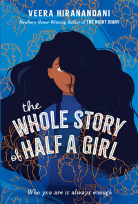 Cover of The Whole Story of Half a Girl cover