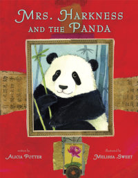 Cover of Mrs. Harkness and the Panda cover