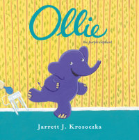 Book cover for Ollie the Purple Elephant