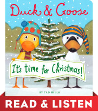 Cover of Duck & Goose, It\'s Time for Christmas! cover