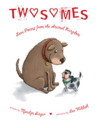 Book cover for Twosomes: Love Poems from the Animal Kingdom
