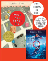 Book cover for When You Reach Me/First Light
