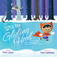 Book cover for Little Red Gliding Hood