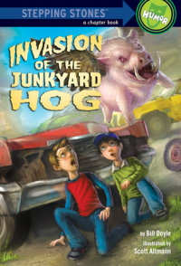 Book cover for Invasion of the Junkyard Hog