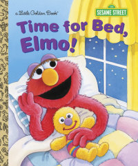 Book cover for Time for Bed, Elmo! (Sesame Street)