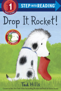 Book cover for Drop It, Rocket! (Step Into Reading, Step 1)