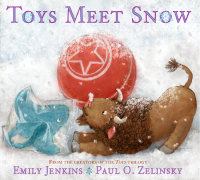 Book cover for Toys Meet Snow