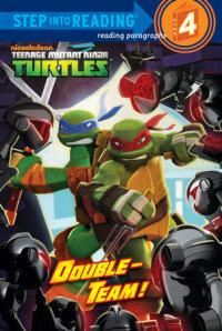 Book cover for Double-Team! (Teenage Mutant Ninja Turtles)