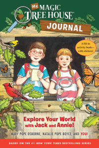 Book cover for My Magic Tree House Journal