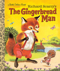 Book cover for Richard Scarry\'s The Gingerbread Man