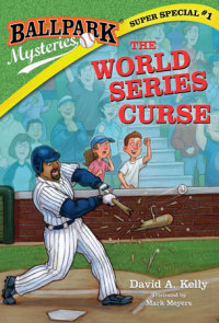 Book cover for Ballpark Mysteries Super Special #1: The World Series Curse