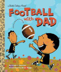 Book cover for Football With Dad