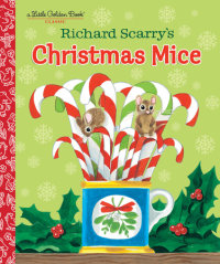 Book cover for Richard Scarry\'s Christmas Mice