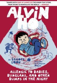 Book cover for Alvin Ho: Allergic to Babies, Burglars, and Other Bumps in the Night