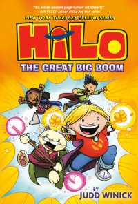 Book cover for Hilo Book 3: The Great Big Boom