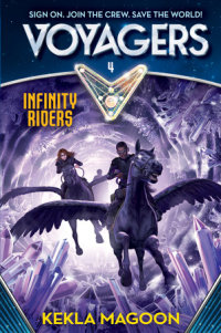 Book cover for Voyagers: Infinity Riders (Book 4)