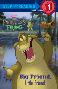 Book cover for Big Friend, Little Friend (Disney Princess)