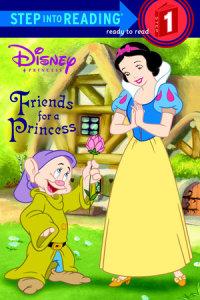 Book cover for Friends for a Princess (Disney Princess)