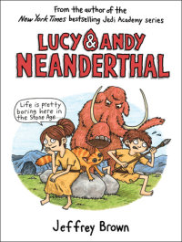 Cover of Lucy & Andy Neanderthal cover