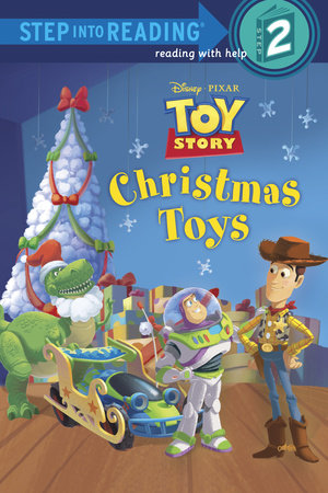 Story Of Christmas.Step Into Reading Christmas Toys Disney Pixar Toy Story
