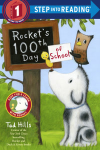 Book cover for Rocket\'s 100th Day of School (Step Into Reading, Step 1)