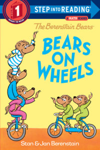 Book cover for The Berenstain Bears Bears on Wheels