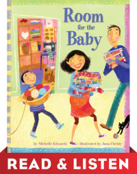 Book cover for Room for the Baby: Read & Listen Edition