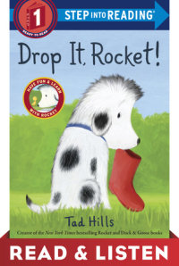 Book cover for Drop It, Rocket!: Read & Listen Edition