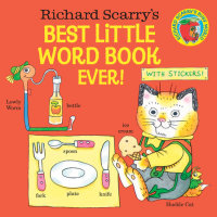 Cover of Richard Scarry\'s Best Little Word Book Ever!