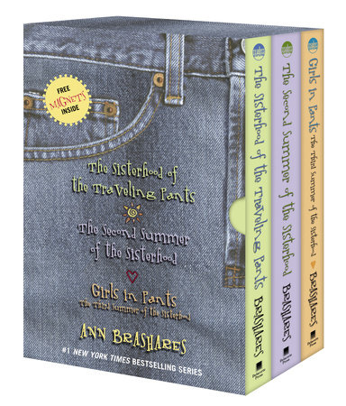 The Sisterhood of the Traveling Pants--3-book boxed set book cover