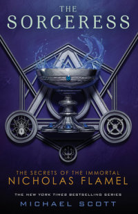 Book cover for The Sorceress