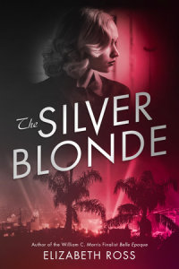 Book cover for The Silver Blonde