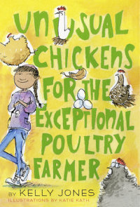 Book cover for Unusual Chickens for the Exceptional Poultry Farmer