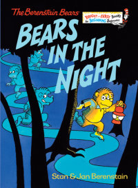 Book cover for Bears in the Night