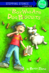 Book cover for The Boy Who Ate Dog Biscuits