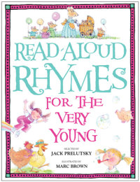 Cover of Read-Aloud Rhymes for the Very Young cover
