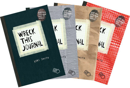 Wreck This Journal Bundle Set