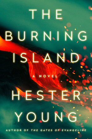 Cover image for The Burning Island