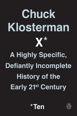 Chuck Klosterman X book cover